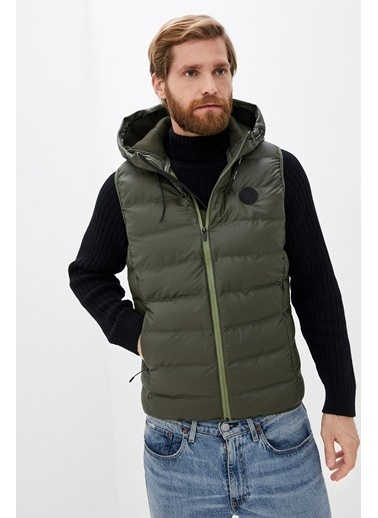 Jack & Jones JCOLADE BODY WARMER 12175579Forest NXXL              Renkli